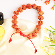 9 mukhi Durga Bracelet in thread - Java