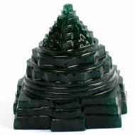 Green Jade Shree Yantra - 115 gms - I