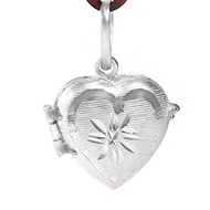 Heart Locket - in Pure Silver