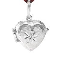 Heart Locket - in Pure Silver