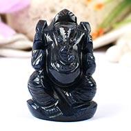 Blue Jade Ganesha - 109 gms
