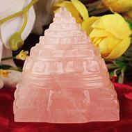 Rose Quartz Shree Yantra - 143 gms