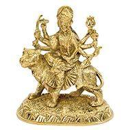 Maa Durga in Brass