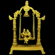 Radha Krishna on Swing - I
