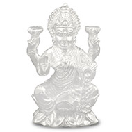 Shri Idol in pure silver