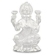 Shri Idol in pure silver