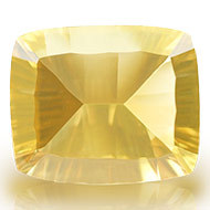 Yellow Citrine Superfine Cutting - 5 to 6 carats - Cushion