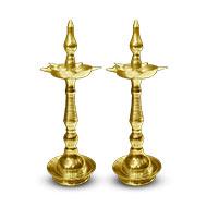Brass Samai - Set of 2