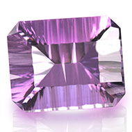 Amethyst superfine cutting - 25 carats