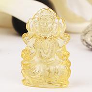 Mahalaxmi in Lemon Topaz - 49.65 carats