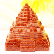 Sunstone Shree Yantra - 86 gms