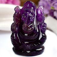 Ganesha in Amethyst - 23 gms - I
