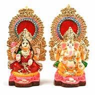 Ganesh Laxmi Idol Set