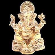 Vinayak Ganesha in Brass