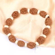 4 mukhi Brahma bracelet from Java - Design I