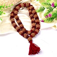 4 Mukhi Brahma Kantha - 32+1 beads - Design I