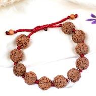 4 Mukhi Nepal Rudraksha beads bracelet - I