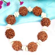 4 Mukhi Nepal Rudraksha beads bracelet - II