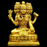 Pashupatinath in Brass