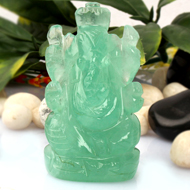 Ganesha in Fluorite - 101 gm