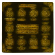 Shree Dus Mahavidya Maha yantra - 6 inches