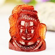 Shiva in Gomed - 28.05 carat