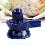 Blue Sodalite Shivling - 94 gms