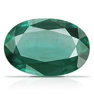 Emerald 3.35 carats Zambian - Oval