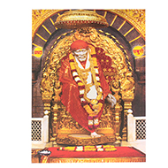 Shirdi Sai Baba Photo - Medium