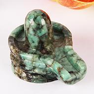 Shivlinga in Emerald - 160 carats