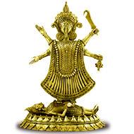 Maha Kaali - Dhokra metal art - Big