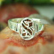 17 Mukhi Rudra Ring - Women