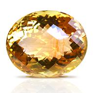 Yellow Citrine - 32 carats - Oval
