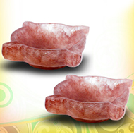 Diyas in Red Jasper - Set of 2 - Design I