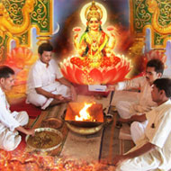Diwali Laxmi Pujan - Group puja - 27th Oct