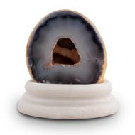 Grey Agate Gemstone Rock