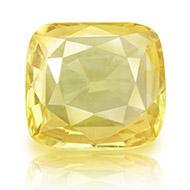 Yellow Sapphire - 4.48 carats - Cushion