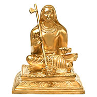 Adi Shankaracharya in Bronze