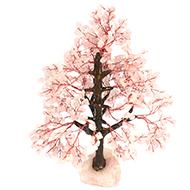 Rose Quartz Vastu Tree - I