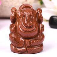 Sunstone Ganesha - 167 gms