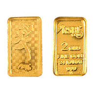 2 gm Pure Gold Bar - 24 Carat