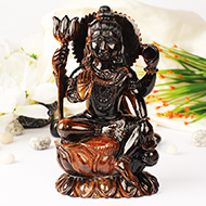 Shiva in Tiger Eye - 898 gms