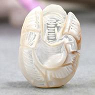 Pearl Ganesh - 16.55 carats