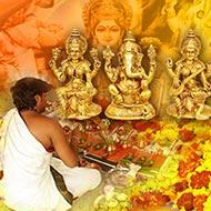 Laxmi Ganesha Saraswati Puja For Higher Education