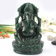 Ganesha Columbian Green Jade - 1 kg