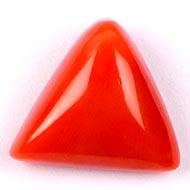 Italian Coral triangular - 7 carats