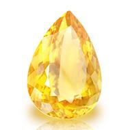 Yellow Citrine - 16.50 Carats - Pear