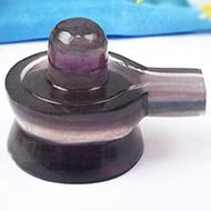 Fluorite Shivlinga-100 gms