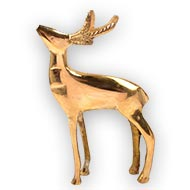 Deer in brass - II