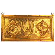 Balaji Emblem on Brass Plate